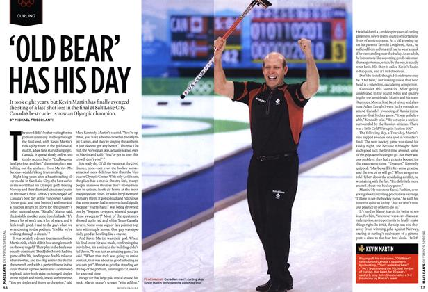 Article Preview: 'OLD BEAR' HAS HIS DAY, MAR. 15th 2010 | Maclean's