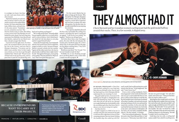 Article Preview: THEY ALMOST HADIT, MAR. 15th 2010 | Maclean's