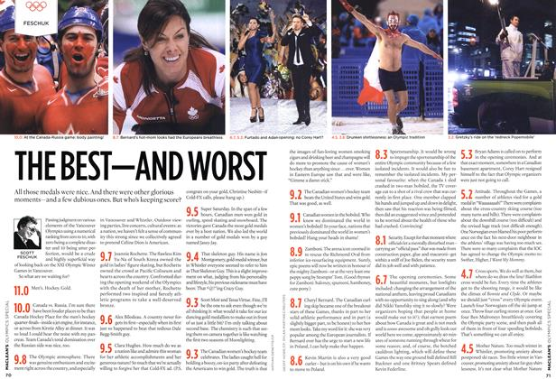 Article Preview: THE BEST—AND WORST, MAR. 15th 2010 2010 | Maclean's