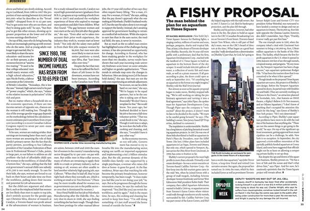 Article Preview: A FISHY PROPOSAL, MAR. 22nd 2010 | Maclean's