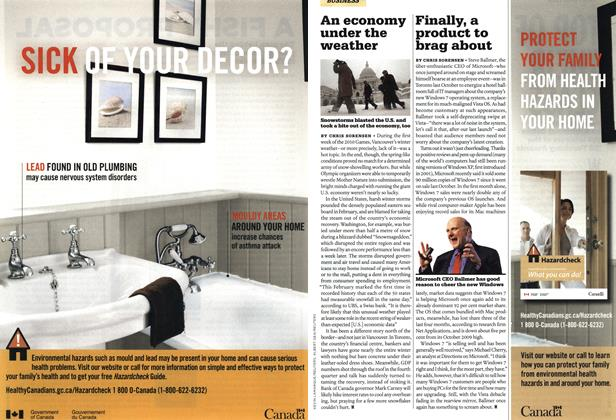 Article Preview: Finally, a product to brag about, MAR. 22nd 2010 | Maclean's