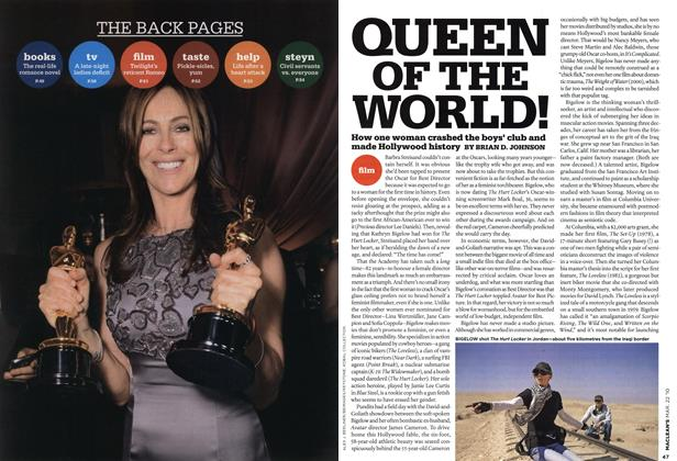 Article Preview: QUEEN OF THE WORLD!, MAR. 22nd 2010 | Maclean's