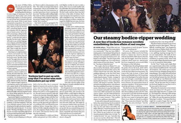 Article Preview: Our steamy bodice-ripper wedding, MAR. 22nd 2010 | Maclean's