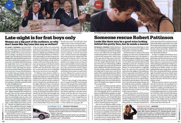 Article Preview: Late-night is for frat boys only, MAR. 22nd 2010 | Maclean's