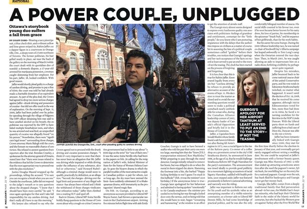 Article Preview: A POWER COUPLE, UNPLUGGED, MAR. 22nd 2010 | Maclean's
