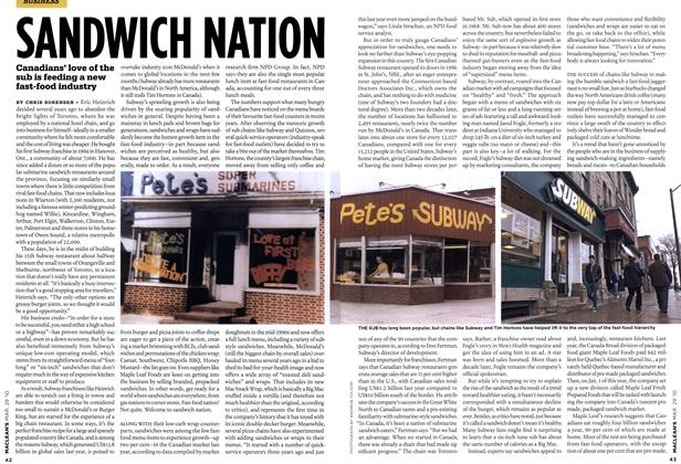 Article Preview: SANDWICH NATION, MAR. 29th 2010 | Maclean's