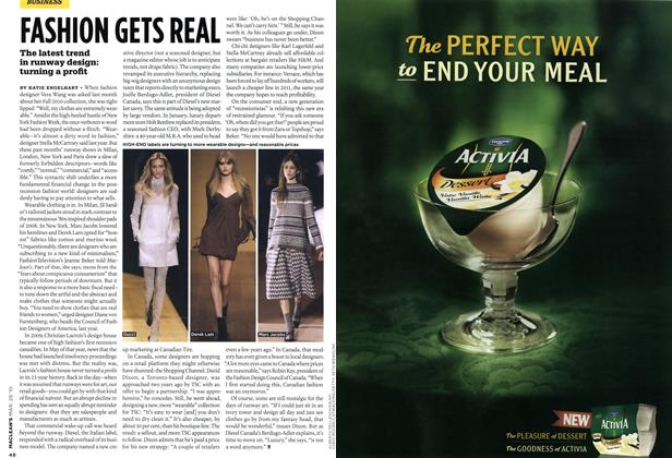 Article Preview: FASHION GETS REAL, MAR. 29th 2010 | Maclean's
