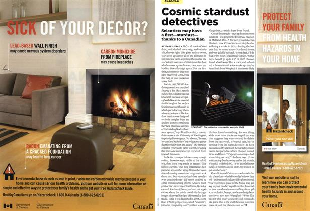 Article Preview: Cosmic stardust detectives, MAR. 29th 2010 2010 | Maclean's