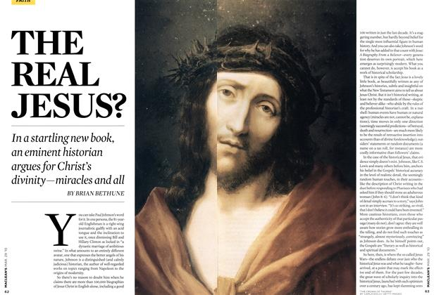 Article Preview: THE REAL JESUS?, MAR. 29th 2010 | Maclean's