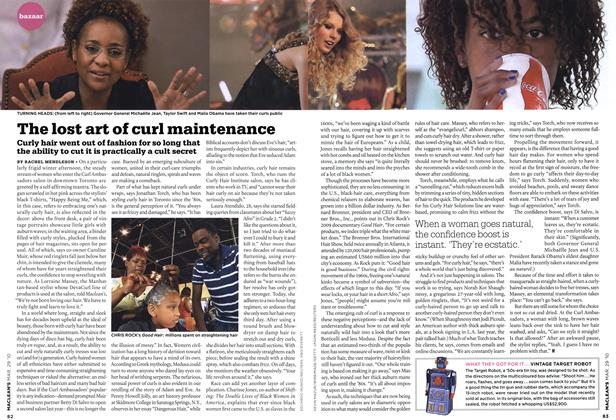 Article Preview: The lost art of curl maintenance, MAR. 29th 2010 | Maclean's
