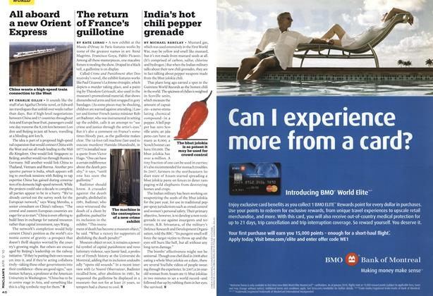 Article Preview: India's hot chili pepper grenade, APR. 12th 2010 | Maclean's