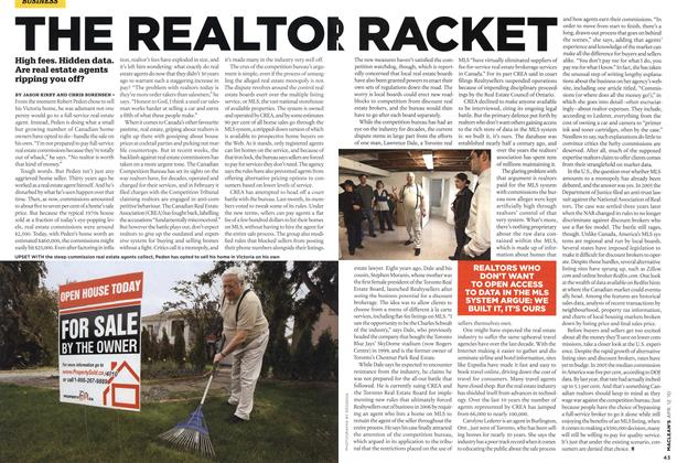 Article Preview: THE REALTOR RACKET, APR. 12th 2010 2010 | Maclean's
