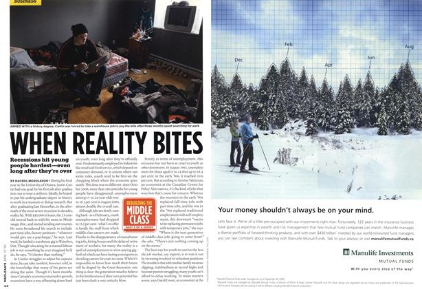 Article Preview: WHEN REALITY BITES, APR. 12th 2010 | Maclean's