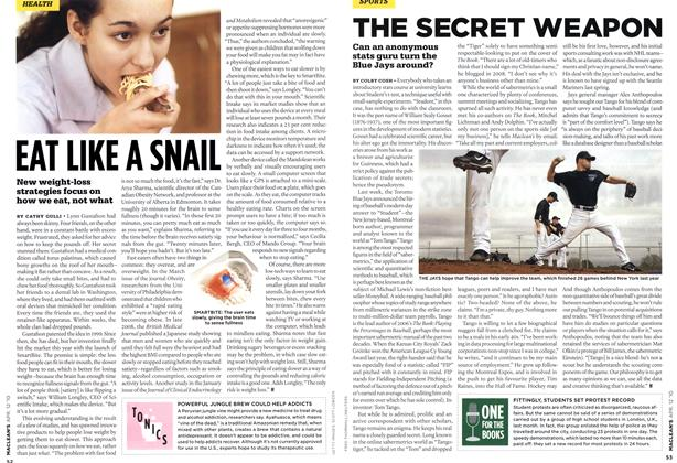 Article Preview: THE SECRET WEAPON, APR. 12th 2010 | Maclean's