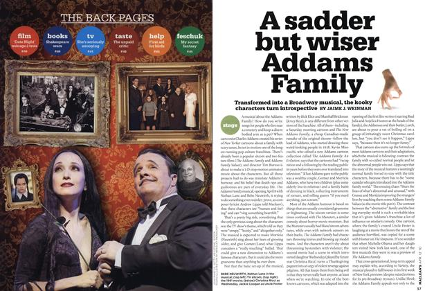 Article Preview: A sadder but wiser Addams Family, APR. 12th 2010 | Maclean's
