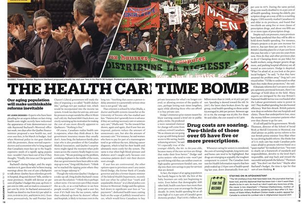 Article Preview: THE HEALTH CARE TIME BOMB, APR. 19th 2010 | Maclean's