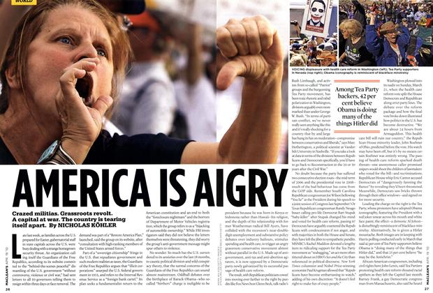Article Preview: AMERICA IS ANGRY, APR. 19th 2010 | Maclean's