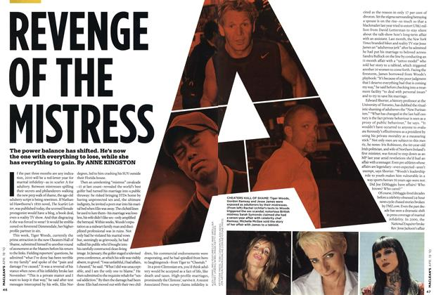 Article Preview: REVENGE OF THE MISTRESS, APR. 19th 2010 | Maclean's