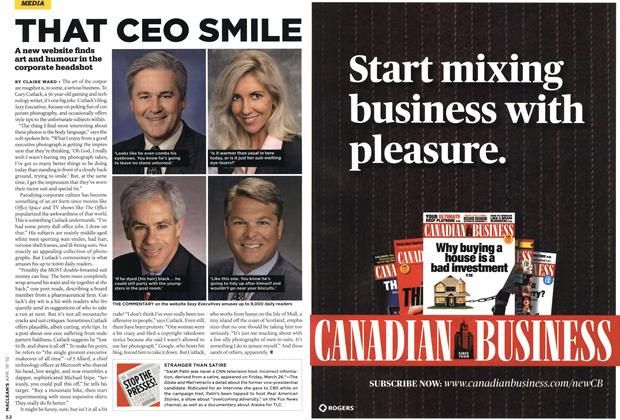 Article Preview: THAT CEO SMILE, APR. 19th 2010 | Maclean's