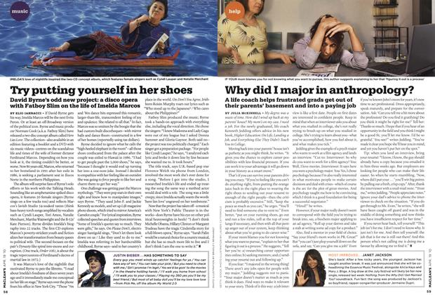 Article Preview: Try putting yourself in her shoes, APR. 19th 2010 | Maclean's