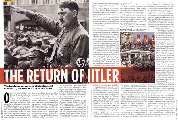 Article Preview: THE RETURN OF HITLER, APR. 26th 2010 | Maclean's