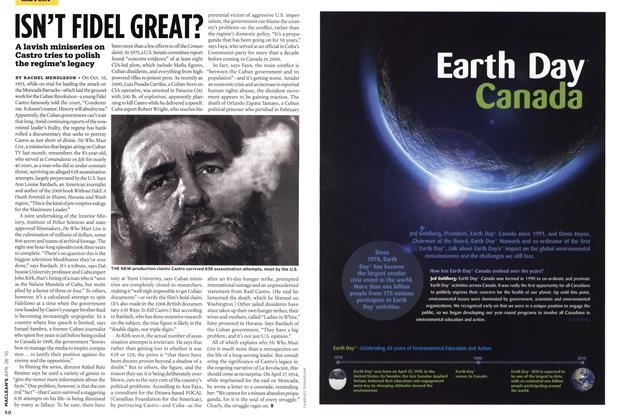 Article Preview: ISN'T FIDEL GREAT?, APR. 26th 2010 2010 | Maclean's
