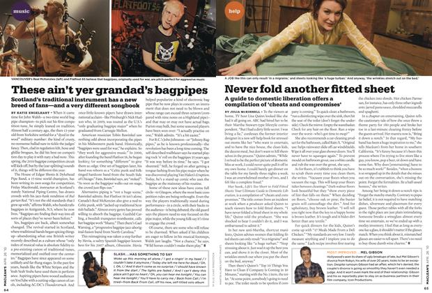 Article Preview: These ain't yer grandad's bagpipes, APR. 26th 2010 2010 | Maclean's
