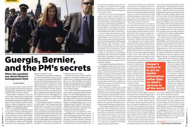 Article Preview: Guergis, Bernier, and the PM's secrets, MAY 3rd 2010 | Maclean's