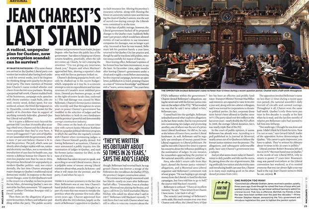 Article Preview: JEAN CHAREST'S LAST STAND, MAY 3rd 2010 | Maclean's