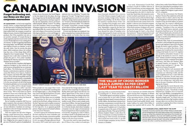 Article Preview: CANADIAN INVASION, MAY 3rd 2010 2010 | Maclean's