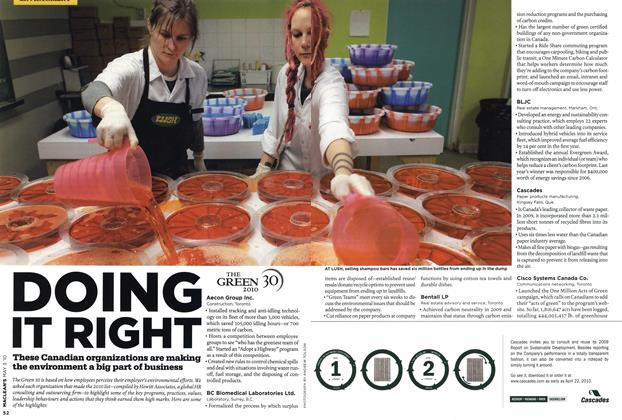 Article Preview: DOING IT RIGHT, MAY 3rd 2010 2010 | Maclean's