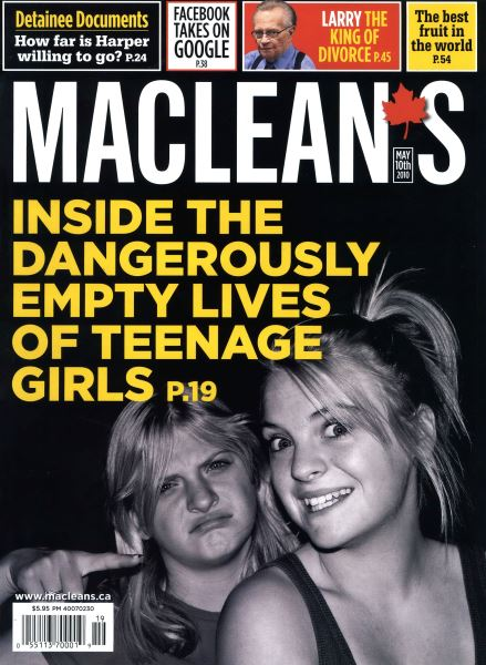 Issue: - MAY 10th 2010   Maclean's