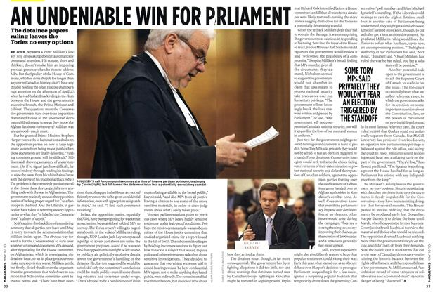 Article Preview: AN UNDENIABLE WIN FOR PRLIMENT, MAY 10th 2010 | Maclean's