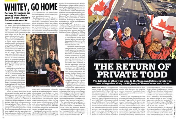 Article Preview: THE RETURN OF PRIVATE TODD, MAY 10th 2010 2010 | Maclean's