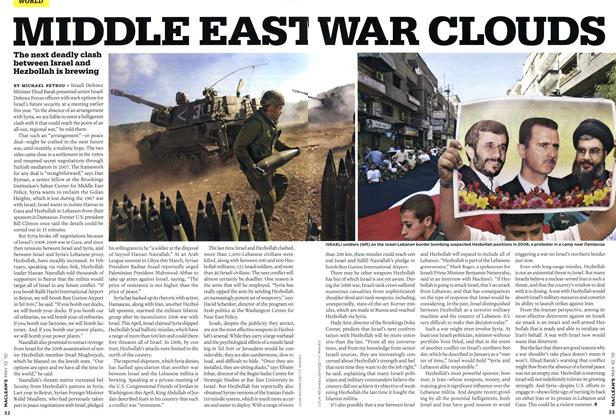 Article Preview: MIDDLE EAST WAR CLOUDS, MAY 10th 2010 | Maclean's