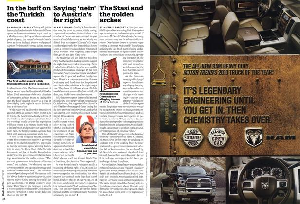 Article Preview: The Stasi and the golden arches, MAY 10th 2010 | Maclean's