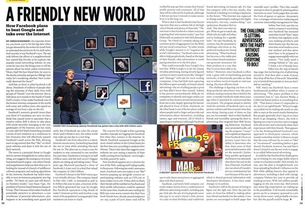 Article Preview: A FRIENDLY NEW WORLD, MAY 10th 2010 2010 | Maclean's