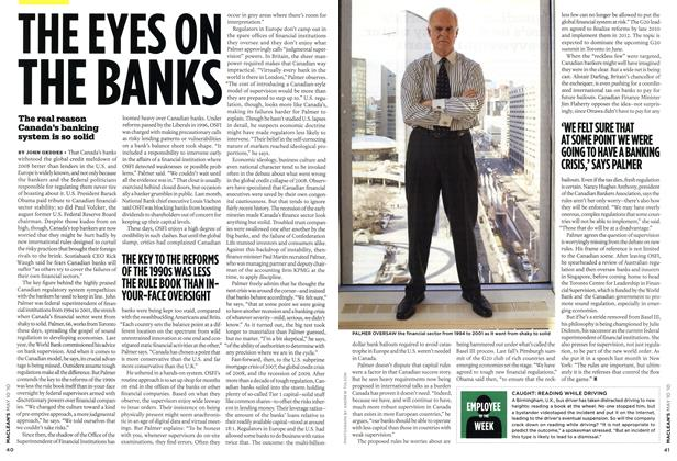 Article Preview: THE EYES ON THE BANKS, MAY 10th 2010 | Maclean's