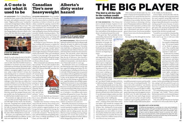 Article Preview: THE BIG PLAYER, MAY 10th 2010 | Maclean's