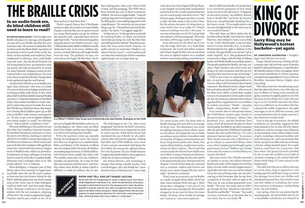 Article Preview: THE BRAILLE CRISIS, MAY 10th 2010 | Maclean's
