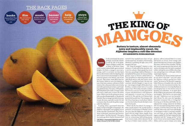 Article Preview: THE KING OF MANGOES, MAY 10th 2010 2010 | Maclean's