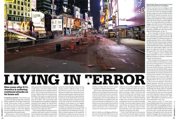 Article Preview: LIVING IN TERROR, May 17th 2010 | Maclean's