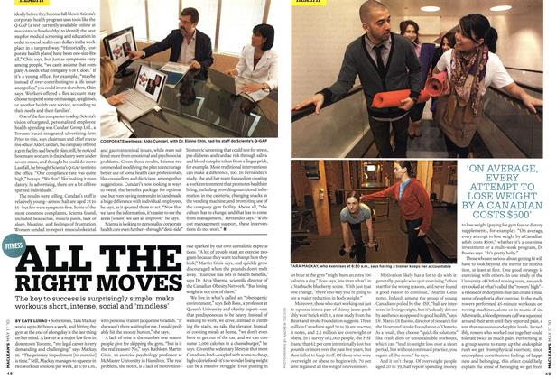 Article Preview: ALL THE RIGHT MOVES, May 17th 2010 | Maclean's