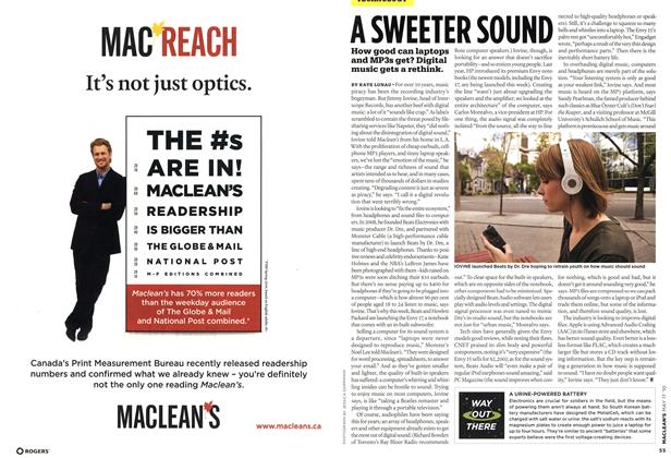 Article Preview: WAY OUT THERE, May 17th 2010 | Maclean's