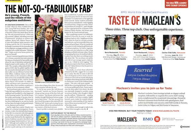 Article Preview: DAY IN THE SUN, May 17th 2010 | Maclean's