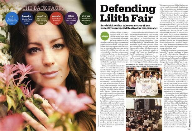 Article Preview: Defending Lilith Fair, May 17th 2010 | Maclean's