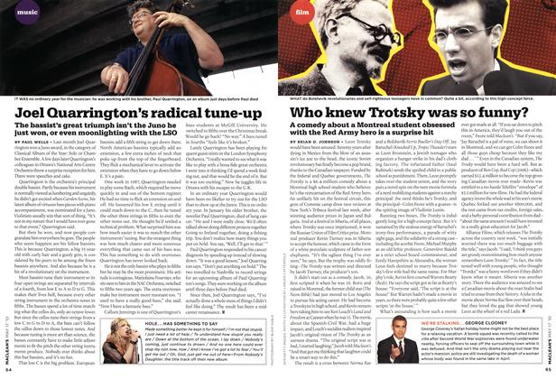 Article Preview: Joel Quarrington's radical tune-up, May 17th 2010 | Maclean's