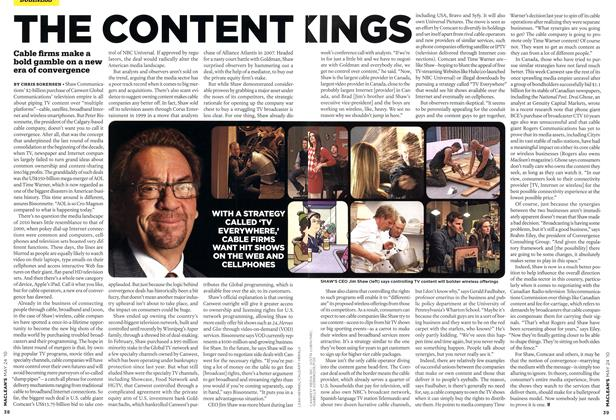Article Preview: THE CONTENT KINGS, MAY 24th 2010 2010 | Maclean's