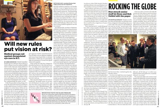 Article Preview: Will new rules put vision at risk?, MAY 24th 2010 | Maclean's
