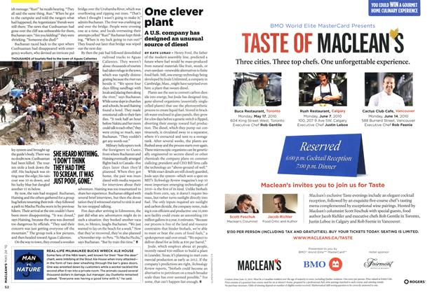 Article Preview: One clever plant, MAY 24th 2010 | Maclean's